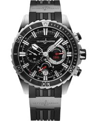 Ulysse Nardin - 1503-151-3/92 Marine Diver Chronograph Stainless Steel Watch - Lyst
