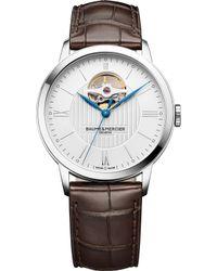 Baume & Mercier - 10274 Classima Alligator-leather Watch - Lyst