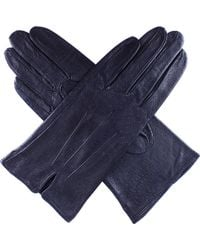 Dents - Peccary-effect Leather Gloves - Lyst