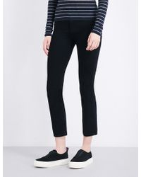 PAIGE - Jacqueline Straight High-rise Jeans - Lyst