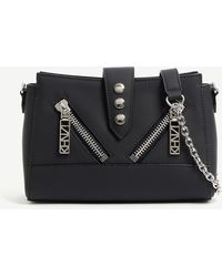 bee32e528a3 KENZO Leather Tiny Kalifornia in Black - Lyst