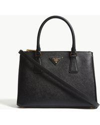 Prada - Galleria Medium Leather Tote - Lyst