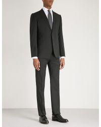 Emporio Armani   Gio Slim-fit Wool Suit   Lyst