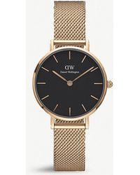 Daniel Wellington - Dw00100217 Melrose Classic Petite Rose Gold-plated Watch - Lyst