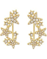 Kate Spade - Seeing Stars Drop Star Earrings - Lyst
