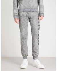 DSquared² - Logo-print Cotton-jersey Jogging Bottoms - Lyst