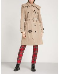 Burberry - Amberford Cotton Trench Coat - Lyst