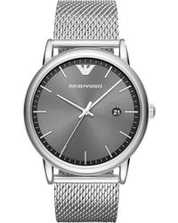 313a4a7391f Emporio Armani Ar1812 Luigi Stainless Steel Chronograph Watch ...