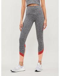 Beyond Yoga Spacedye Stretch-jersey leggings