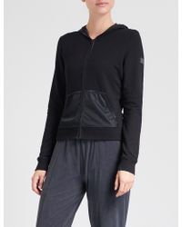 Monreal London - Cosy Stretch-jersey Hoody - Lyst