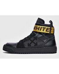 Off-White c/o Virgil Abloh - Industrial Belt Leather High-top Trainers - Lyst