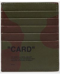 Off-White c/o Virgil Abloh - Quote Camouflage Card Holder - Lyst