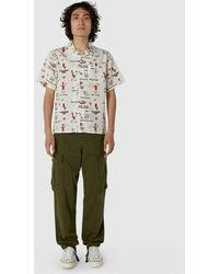 Human Made - Short Sleeve Curry Up Aloha Shirt - Lyst