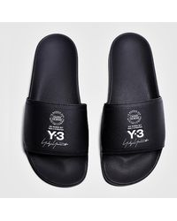 b9420dc70435e Y-3 Qasa Sandal in Black for Men - Lyst