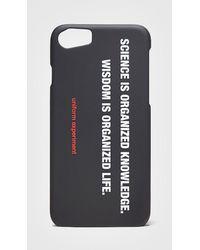 Uniform Experiment - Philosophy Iphone 8 Case - Lyst