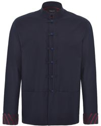 Shanghai Tang - Frog Buttons Shirt Jacket - Lyst