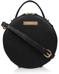 Carvela Kurt Geiger - Black 'clemmie Circle X Body' Bag - Lyst
