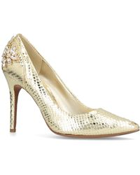 MICHAEL Michael Kors - Claire Pump In Gold - Lyst