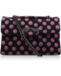Kurt Geiger - Fabric Mayfair X Bag - Lyst