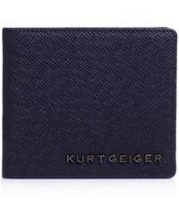 Kurt Geiger - Saffiano American Wallet - Lyst