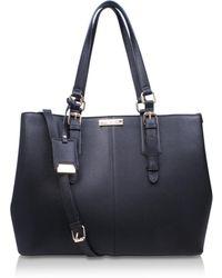 bf1ef74678 Uniqlo Women Enamel Tote Bag (ines De La Fressange) in Black - Lyst