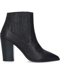 Carvela Kurt Geiger - Sizzle High Heel Ankle Boots Black - Lyst