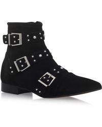 Carvela Kurt Geiger - Snorkle Zip Up Ankle Boots - Lyst