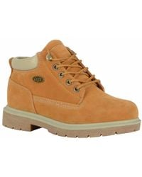 fbfe1fc072f7 Lyst - Lugz Theta Wedge Bootie in Brown