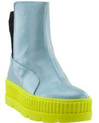a236903b8f7a Lyst - PUMA Women s Fenty X Rihanna Chelsea Sneaker Boot From Finish ...