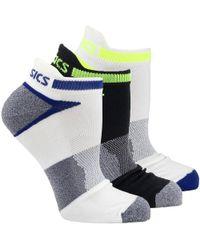 91c9a0933ac32 Lyst - Asics Quick Lyte Cushion Single Tab Lightweight Running Socks ...