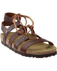 7e1768fdf72 Lyst - Birkenstock Papillio By Cleo Gladiator Sandal in Pink
