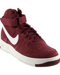 28fda3f6b3a Lyst - Nike Air Force 1 Ultraforce Mid Tech Sneaker in Gray for Men