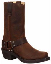 Durango - Brown Harness Boot - Lyst