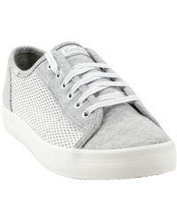 8c43f746294e9 Lyst - Keds Women S Champion Jersey Glitter Oxford Sneakers in Gray
