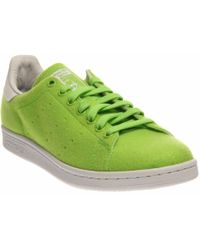 1c7b97a5f Lyst - adidas Originals Pharrell Williams Stan Smith in Green for Men
