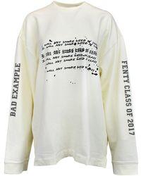 9342a419b8b4 Lyst - Footshop Puma Fenty X Rihanna Ss Crew Neck T-shirt Knockout ...