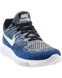 0f92c82119ba Lyst - Nike Lunarepic Low Flyknit 2 in Black for Men