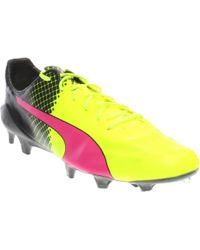 c6d12d946 Lyst - PUMA Evospeed Sl Leather Ii Firm Ground Cleats in Black for Men