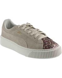 PUMA - Suede Platform Crushed Jewel - Lyst
