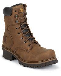Chippewa Boots - Tough Bark St Oblique 8 Inch Logger Iq - Lyst