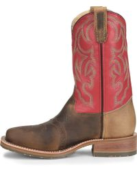 Double H Boot - Wide Square Toe Roper - Final Sale - Lyst