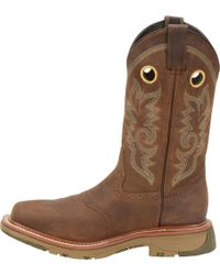 Double H Boot - 11 Domestic Wide Square Toe Work Western - Lyst