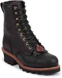 Chippewa Boots - Black St 8 Inch Logger - Lyst