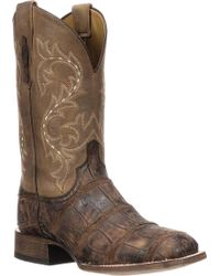 Lucchese Bootmaker - Malcolm W Toe Western Boot - Lyst
