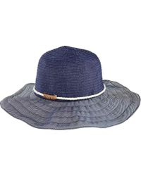 San Diego Hat Company - Ribbon Sun Hat With Rope Band Rbl4787 - Lyst