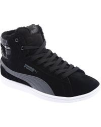 Lyst - PUMA Women s Suede Classic Winterized Lo Casual Sneakers From ... 9a1c58388