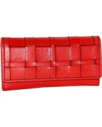 Nino Bossi - Winona Woven Leather Wallet - Lyst