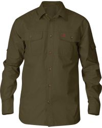 Fjallraven - Singi Trekking Long Sleeve Shirt - Lyst
