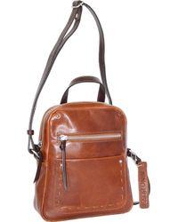 Lyst - Michael Michael Kors Lupita Large Leather Hobo Bag in Brown 6221b5e8fd