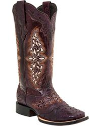Lucchese Bootmaker - Amberlyn W Toe Cowgirl Boot - Lyst